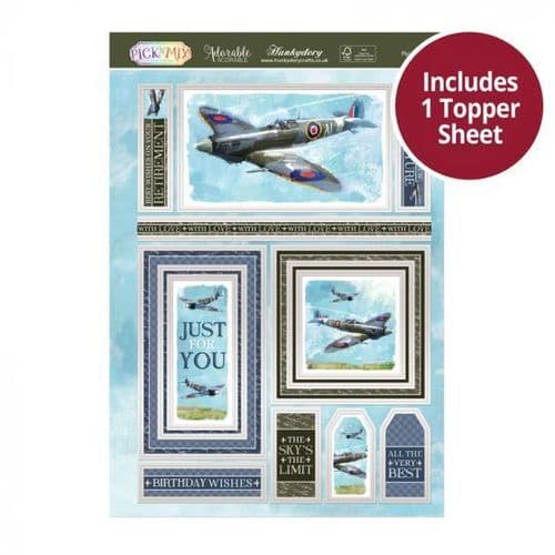 Flying High Hunkydory Decoupage Topper Sheet